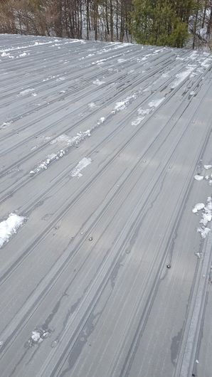 Before & After Snow Removal on Commercial Site in Spencer, MA (4)