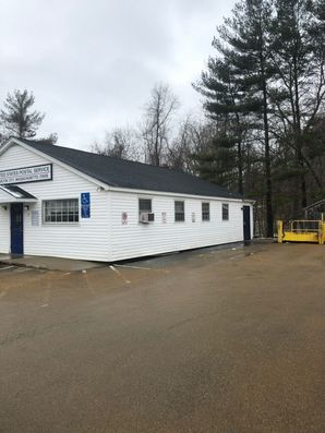 Before & After New Roof on the Post Office in  Charlton, MA (4)